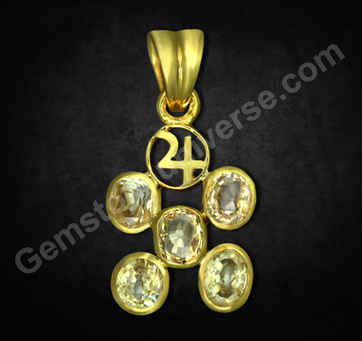 An Introduction to Yellow Sapphire| Yellow The Gem of Jupiter | Yellow Sapphire Pukhraj information | Vedic Astrology and Gemstones | Scoop.it