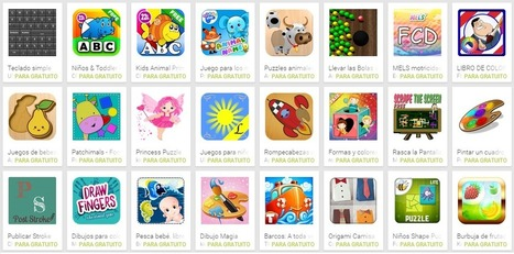 20 Apps para Motricidad Fina | Educación 2015 | Scoop.it
