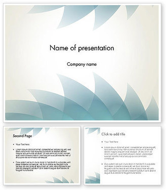 Abstract Saw-toothed PowerPoint Template | PowerPoint Presentations and Templates | Scoop.it