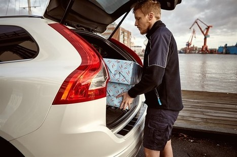 Volvo offer Christmas Shopping Delivered Directly to Your Car | Magazine | Scoop.it