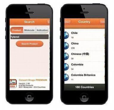 Convert Drugs Premium :Une appli pour trouver son médicament partout dans le monde | Esanté, Santé digitale, Santé Mobile, Santé connectée, Innovation santé, | Scoop.it