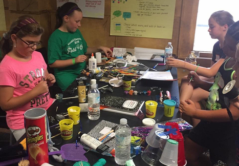 What Happens When You Combine a Writer's Workshop and Makerspace? | Scriveners' Trappings | Scoop.it