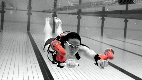 x2 Sport: World's First Wearable Underwater Jet Pack | Technology in Business Today | Scoop.it