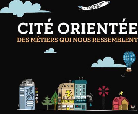Cité orientée, des métiers qui nous ressemblent | Webdocumentaires en milieu scolaire | Scoop.it