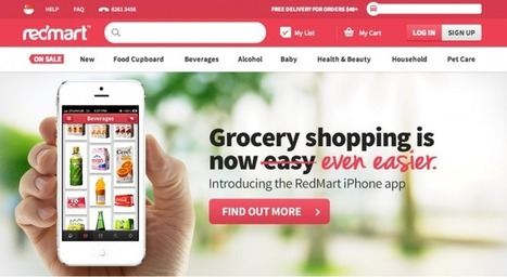 Singapore online grocery store RedMart gets $23M from star-studded investors | e-tail & Retail Logistics and Supply Chain Intelligence | Scoop.it