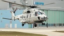 Vol inaugural du premier NH90 NFH (NATO Frigate Helicopter) belge | Aeronautical | Scoop.it