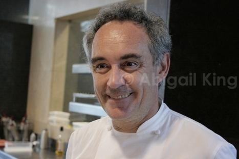 Ferran Adria, the World's Best Chef, Talks About Success | The Best Cultural Travel & Adventure | Tourisme en Catalogne - Paused topic | Scoop.it