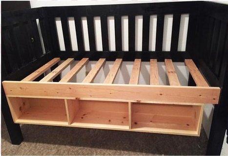 Trundle storage bed | Garden Plans | Scoop.it