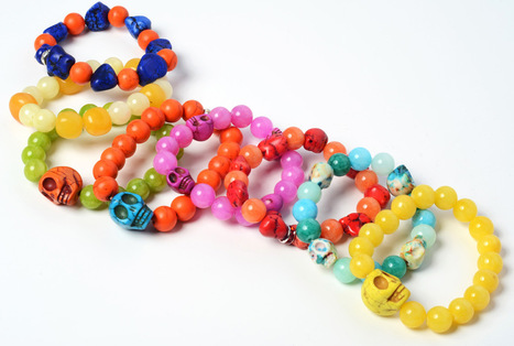 Angels & Divas Candy Colored Jade & Turquoise Bracelets | 2013 Fashion Trends in Jewelry | Scoop.it