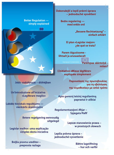Better Regulation - simply explained - European Commission | SimplificaciónAdministrativa | Scoop.it