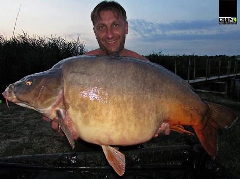 Cod rosu la crap pe lacul Harsany | Carp fishing | Scoop.it