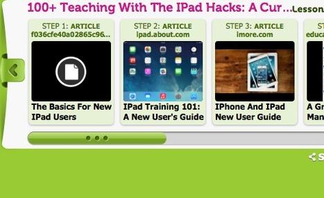 100+ Teaching With the iPad Hacks: A Curated Playlist of Quick Start Resources | Tablets,SmartPhone,Chromebooks | Scoop.it