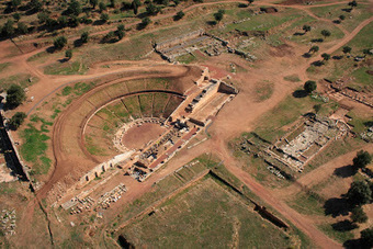 The Archaeology News Network: Ancient theatre of Messene re-opens after 1,700 years | Anthropology, Archaeology, and History | Scoop.it