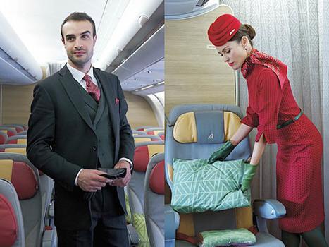 Alitalia dévoile ses nouveaux uniformes (photos, vidéo) | Aviation & Airliners | Scoop.it