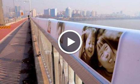 Ce pont qui vous réchauffe le coeur avec de l'amour a fait baisser le taux de suicide de 77% | ProTourisme | Scoop.it
