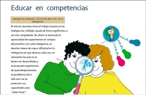 Educar en Competencias y la Teoría de las Inteligencias Múltiples | eBook | Educacion, ecologia y TIC | Scoop.it