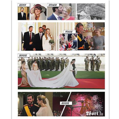 Wort.lu - Des rumeurs au week-end de fête: revivez le mariage princier | Data @ Luxemburger Wort | Scoop.it