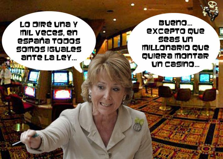 Esperanza Aguirre cambiaría la ley del tabaco para beneficiar a Eurovegas. | Partido Popular, una visión crítica | Scoop.it
