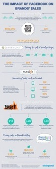 [Infographic] The Impact of Facebook on Brands' Sales | Wishpond ... | WebMarketing Contents | Scoop.it