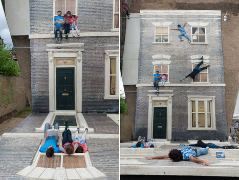 Leandro Erlich: Dalston House | space | Scoop.it