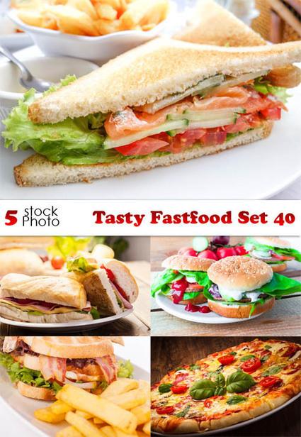 Photos - Tasty Fastfood Set 40 | DesignFeed | Scoop.it