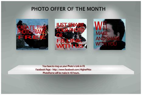 Free Offer for Photo Frames | Free Photo Frames | Scoop.it