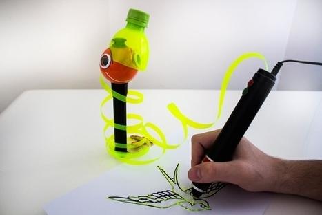 3D-print pen die materialen recyclet | Gadgets en onderwijs | Scoop.it