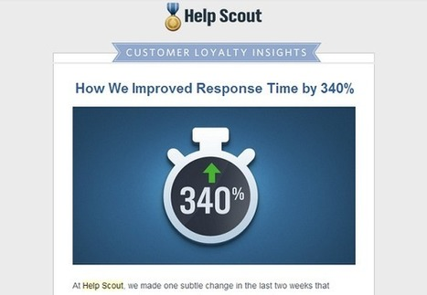 Lean Newsletters: How HelpScout increased clickthrough rate by 17% | Newsletters | Scoop.it