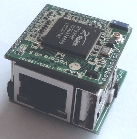 $15 Open Source Hardware VoCore Wi-Fi Module Runs OpenWRT (Crowdfunding) | Embedded Systems News | Scoop.it
