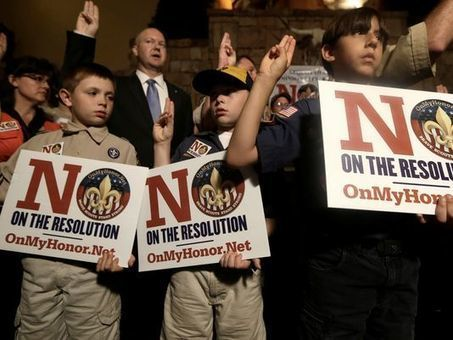 adamfoxie*blog International: The Boy Scouts Vote to Allow Gay Kids to Join and Remain in The Club   Ending Discrimination   Scoop.it