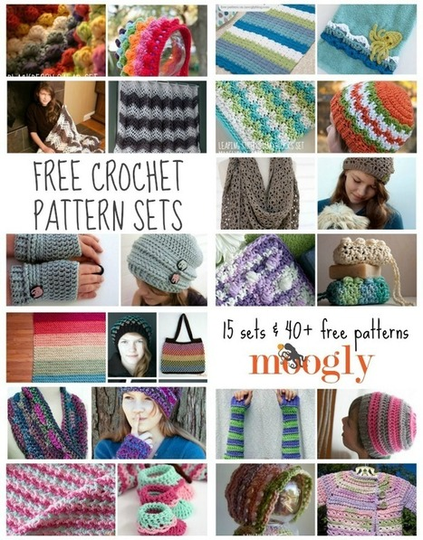 Better Together: Great Free Crochet Pattern Sets for Gift Giving! | Crochet free patterns | Scoop.it