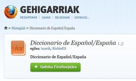 Nola instalatu eta nola erabili Firefox nabigatzailean Xuxen gehigarria   Euskara eta euskaraz ikasi   Scoop.it