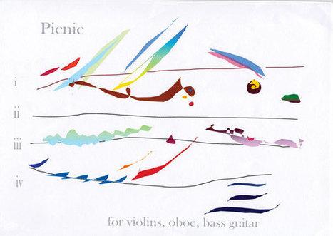 Graphic scores: lively alternative ways of writing music | Curiosidades sobre la música | Scoop.it
