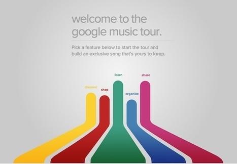 Google Music Tour : une belle démo en HTML5 | papyto | Scoop.it