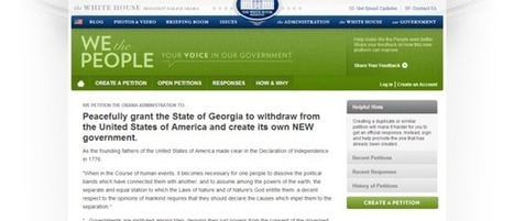 Obama reelection sparks renewed calls for secession | FAITH | Scoop.it