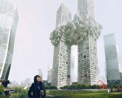 Do These Skyscrapers Look Like The Twin Towers Exploding? MVRDV Responds | Co. Design | The Nomad | Scoop.it