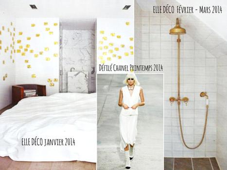 2014 : une feuille blanche et or | Créateurs de bijoux : blog sur la création de bijoux | Scoop.it