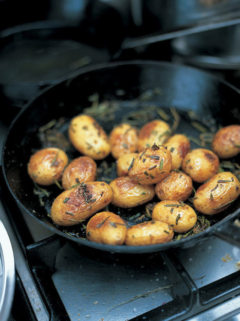Baked New Potatoes | Vegetables Recipes | Jamie Oliver Recipes | Recipes | Scoop.it