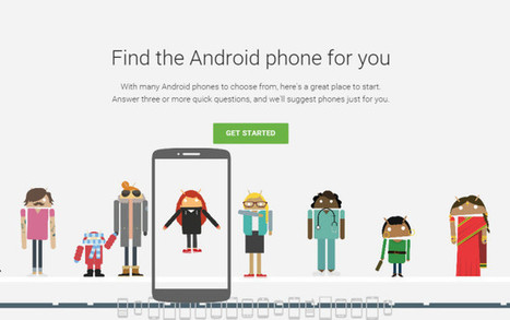 Here's the Google Tool helps You to Find Right Android Smartphone | World Wide Tricks | Scoop.it
