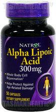 Natrol Alpha Lipoic Acid 300mg | Tasman Health | Scoop.it