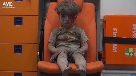 O 'horror de Aleppo' em imagem de menino que sobreviveu a ataque aéreo na Síria - BBC Brasil | BOCA NO TROMBONE! | Scoop.it