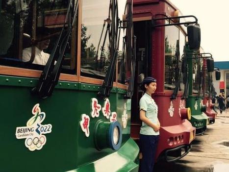 JO 2022 : Des bus électriques aux couleurs de la candidature de Pékin | Sport et développement durable | Scoop.it