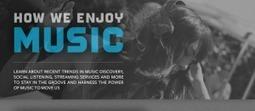 Infographie : comment découvre t-on de la musique ? | Vincent Bouton Curation | Scoop.it