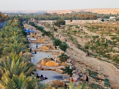 Saudi Arabia Dumping Ground Becomes a Desert Oasis | Sustainable Futures | Scoop.it