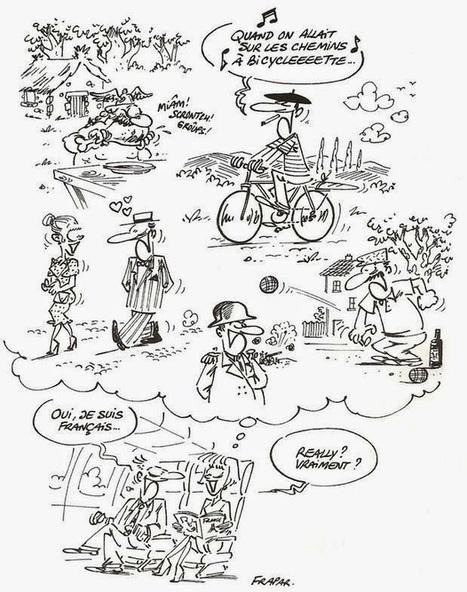 Un petit coin de France: Les stéréotypes sur les Français | APPRENTISSAGE-DIDACTIQUE-  CULTURE ET CIVILISATION FR- TICE -EDITION | Scoop.it
