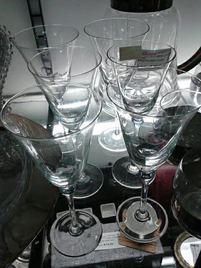 Mercatino dell'usato a Roma, calici in vetro di Murano | Offerte Roma | Scoop.it