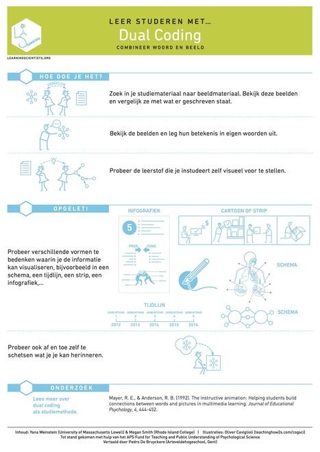 De Nederlandse versies van de studieposters van The Learning Scientists   Master Onderwijskunde Leren & Innoveren   Scoop.it