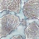 Watercolor Hand Maps | Emily Garfield Art | StylingM@p | Scoop.it