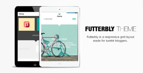 Futterbly – Responsive Tumblr Theme (Tumblr) | Tumblr Templates Download | Scoop.it