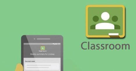 Google Classroom se actualiza con nuevas funciones para padres y...   Aprendizaje virtual   Scoop.it